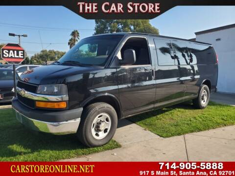 2014 Chevrolet Express Passenger for sale at The Car Store in Santa Ana CA