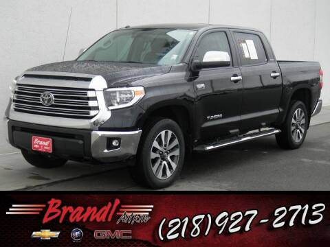 2018 Toyota Tundra for sale at Brandl GM in Aitkin MN