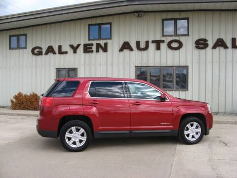 2015 GMC Terrain for sale at Galyen Auto Sales Inc. in Atkinson NE