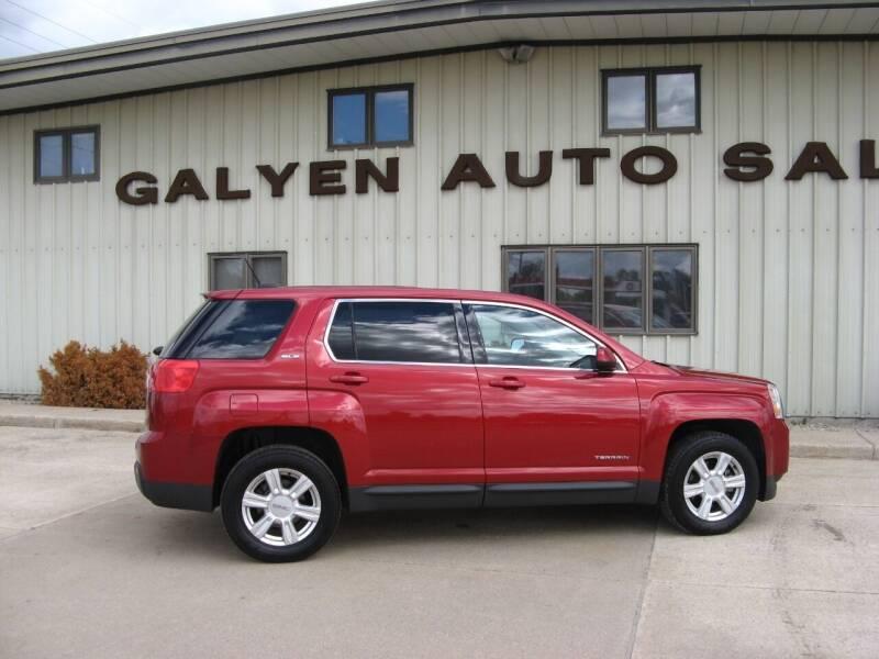 2015 GMC Terrain for sale at Galyen Auto Sales Inc. in Atkinson NE