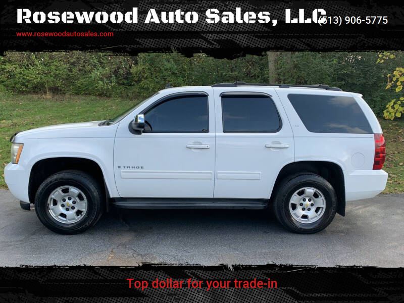 2009 Chevrolet Tahoe for sale at Rosewood Auto Sales, LLC in Hamilton OH
