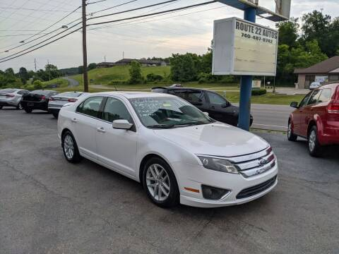 2010 Ford Fusion for sale at Route 22 Autos in Zanesville OH