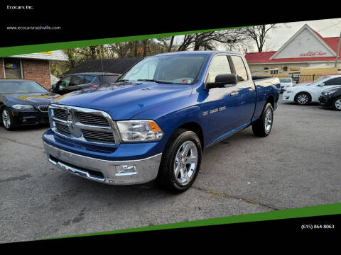 2011 RAM Ram Pickup 1500 for sale at Ecocars Inc. in Nashville TN