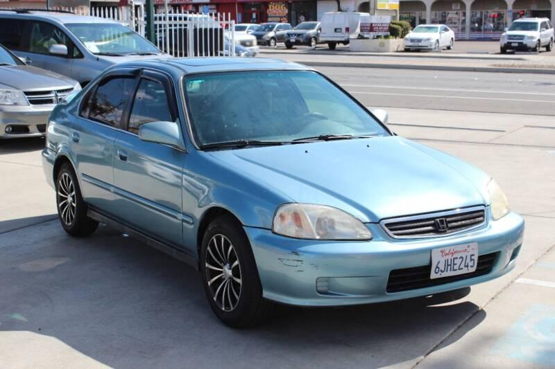 1999 Honda Civic for sale at Car 1234 inc in El Cajon CA
