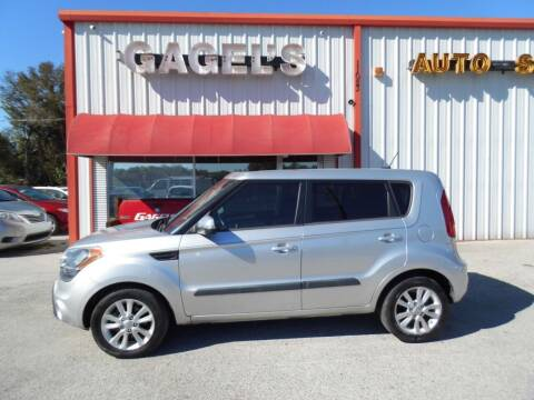 2013 Kia Soul for sale at Gagel's Auto Sales in Gibsonton FL
