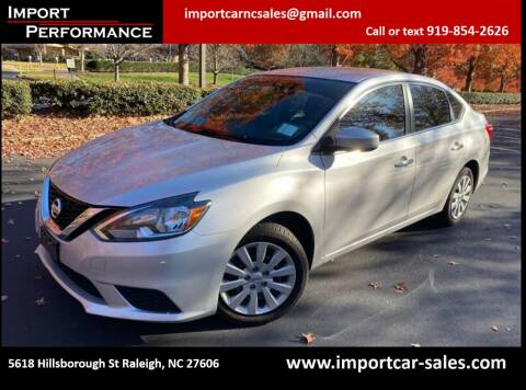 2017 Nissan Sentra for sale at Import Performance Sales in Raleigh NC
