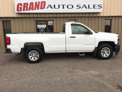 2014 Chevrolet Silverado 1500 for sale at GRAND AUTO SALES in Grand Island NE
