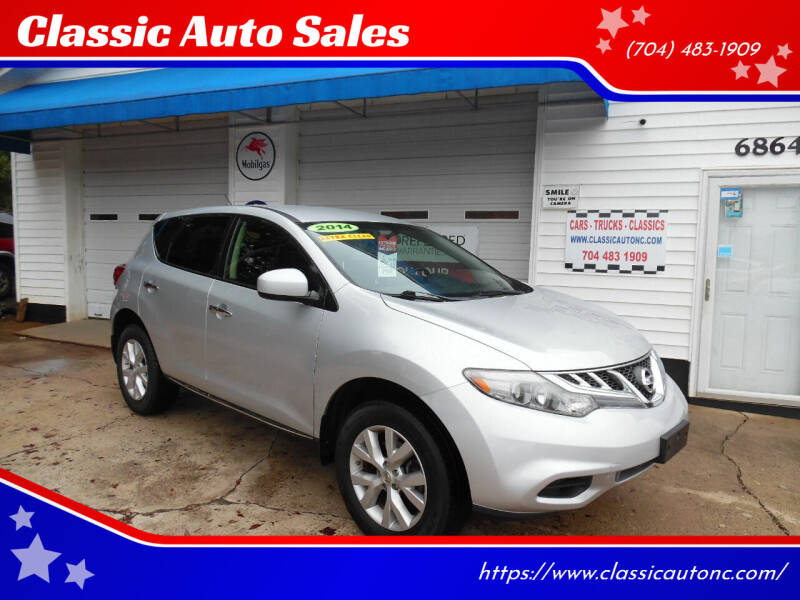 2014 Nissan Murano for sale at Classic Auto Sales in Maiden NC