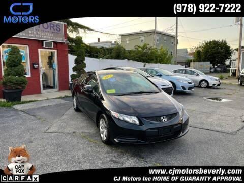 2013 Honda Civic for sale at CJ Motors Inc. in Beverly MA
