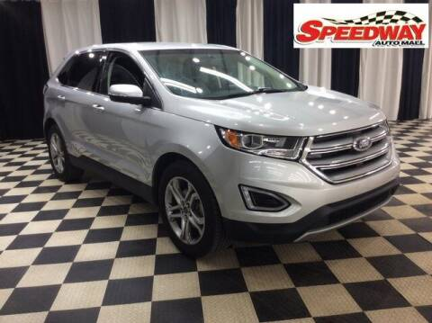2017 Ford Edge for sale at SPEEDWAY AUTO MALL INC in Machesney Park IL