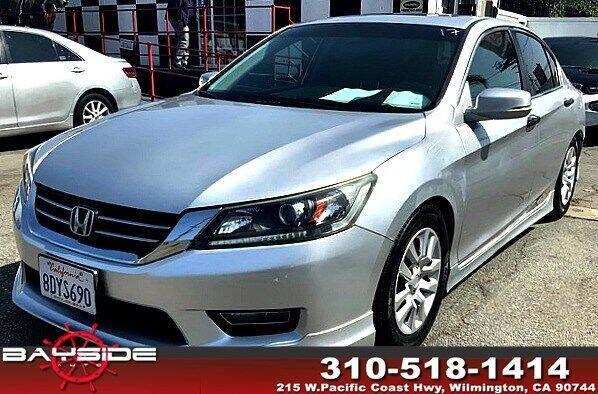 2013 Honda Accord for sale at BaySide Auto in Wilmington CA