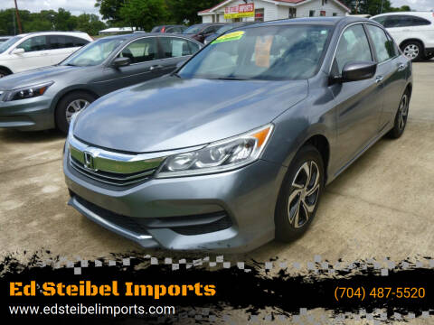 2016 Honda Accord for sale at Ed Steibel Imports in Shelby NC