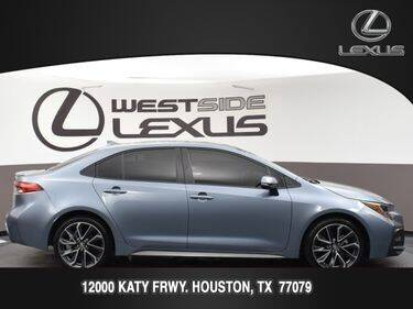2021 Toyota Corolla for sale at LEXUS in Houston TX