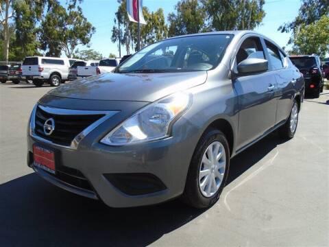 2018 Nissan Versa for sale at Centre City Motors in Escondido CA