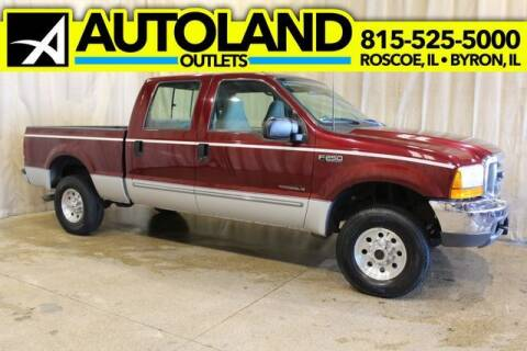 2000 Ford F-250 Super Duty for sale at AutoLand Outlets Inc in Roscoe IL
