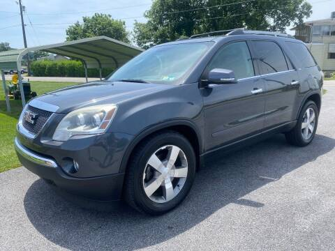 2011 GMC Acadia for sale at Finish Line Auto Sales in Thomasville PA