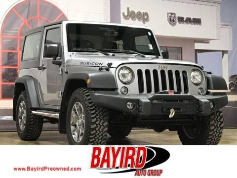 2018 Jeep Wrangler JK for sale at Bayird Truck Center in Paragould AR