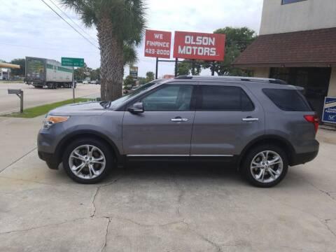 2013 Ford Explorer for sale at Olson Motors LLC in Saint Augustine FL
