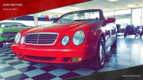 1999 Mercedes-Benz CLK for sale at HUM MOTORS in Caldwell ID