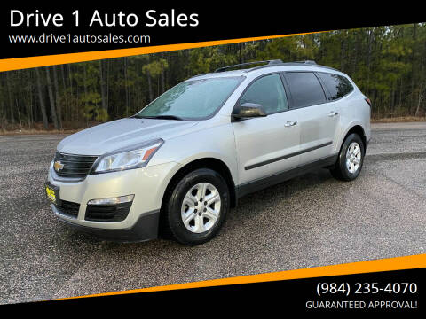 2016 Chevrolet Traverse for sale at Drive 1 Auto Sales in Wake Forest NC