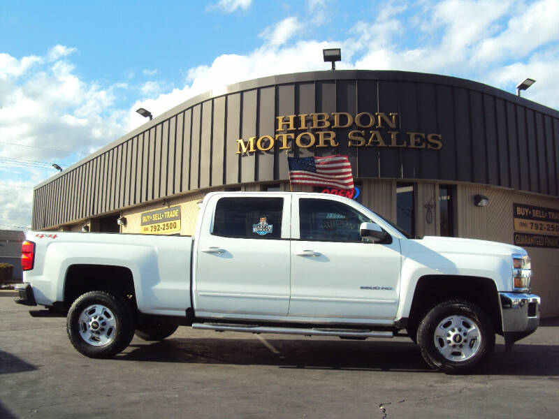 2016 Chevrolet Silverado 2500HD for sale at Hibdon Motor Sales in Clinton Township MI