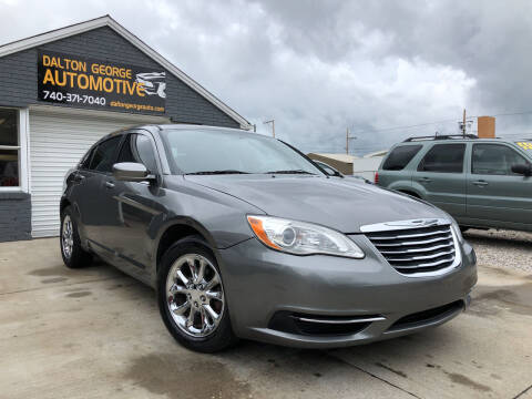 2012 Chrysler 200 for sale at Dalton George Automotive in Marietta OH