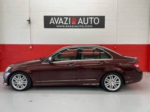 2009 Mercedes-Benz C-Class for sale at AVAZI AUTO GROUP LLC in Gaithersburg MD