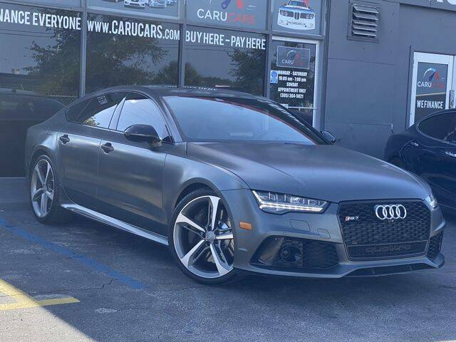 2016 Audi RS 7 for sale at CARUCARS LLC in Miami FL