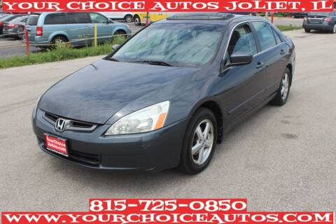 2003 Honda Accord for sale at Your Choice Autos - Joliet in Joliet IL