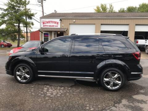 2017 Dodge Journey for sale at Jim's Hometown Auto Sales LLC in Byesville OH