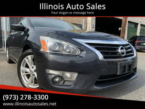 2013 Nissan Altima for sale at Illinois Auto Sales in Paterson NJ
