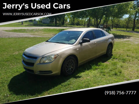 2008 Chevrolet Malibu for sale at Jerry's Used Cars in Okmulgee OK