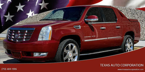 2007 Cadillac Escalade EXT for sale at Texas Auto Corporation in Houston TX