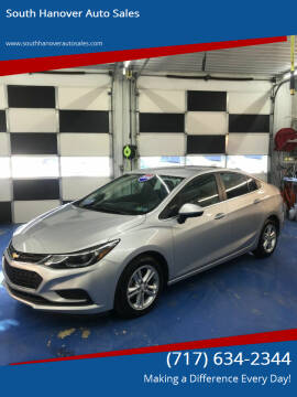 2016 Chevrolet Cruze for sale at South Hanover Auto Sales in Hanover PA