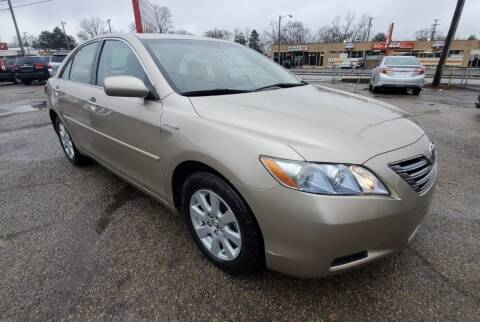 2009 Toyota Camry Hybrid for sale at Nile Auto in Columbus OH