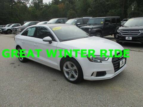 2019 Audi A3 for sale at MC FARLAND FORD in Exeter NH