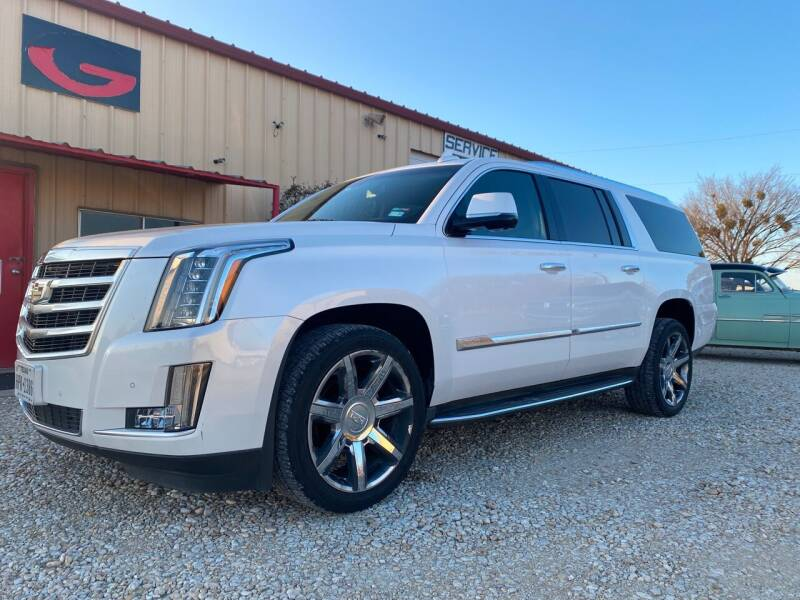 2016 Cadillac Escalade ESV for sale at Gtownautos.com in Gainesville TX