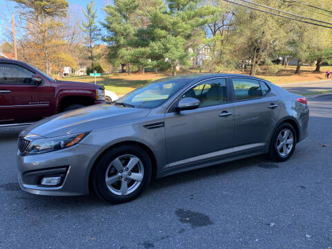 2014 Kia Optima for sale at Trax Auto II in Broadway VA
