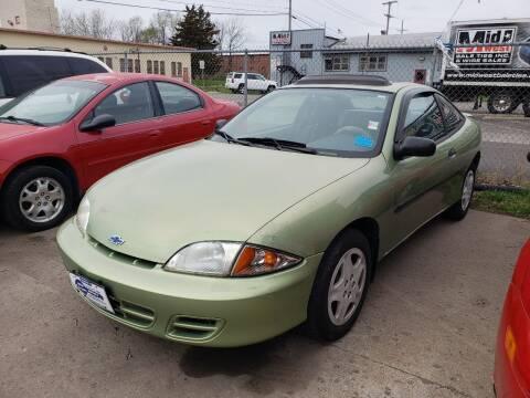2002 Chevrolet Cavalier for sale at New Start Motors LLC - Crawfordsville in Crawfordsville IN