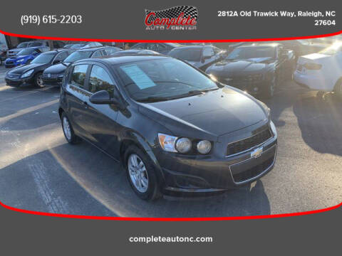 2014 Chevrolet Sonic for sale at Complete Auto Center , Inc in Raleigh NC