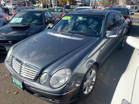 2006 Mercedes-Benz E-Class for sale at Park Avenue Auto Lot Inc in Linden NJ