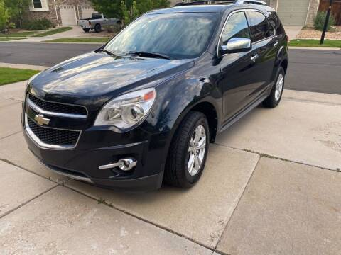 2011 Chevrolet Equinox for sale at AROUND THE WORLD AUTO SALES in Denver CO
