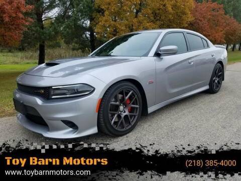 2016 Dodge Charger for sale at Toy Barn Motors in New York Mills MN