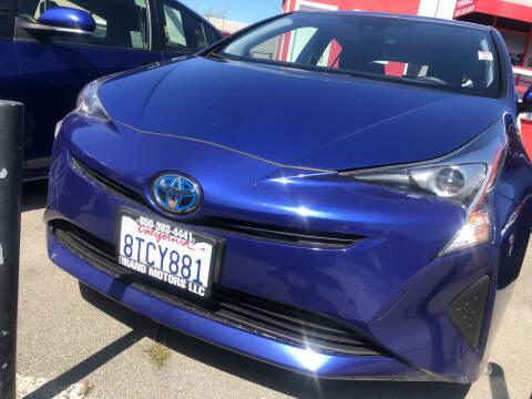 2017 Toyota Prius for sale at Brand Motors llc in Belmont CA