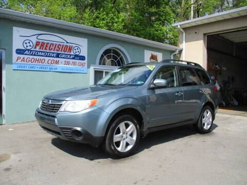 2010 Subaru Forester for sale at Precision Automotive Group in Youngstown OH