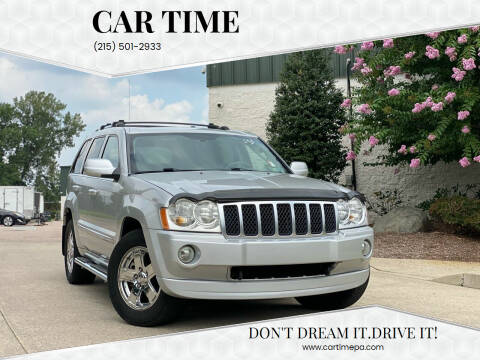 2007 Jeep Grand Cherokee for sale at Car Time in Philadelphia PA