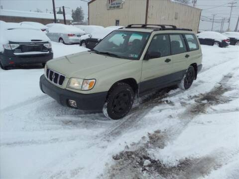 2001 Subaru Forester for sale at Terrys Auto Sales in Somerset PA