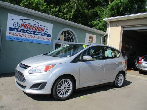 2015 Ford C-MAX Hybrid for sale at Precision Automotive Group in Youngstown OH