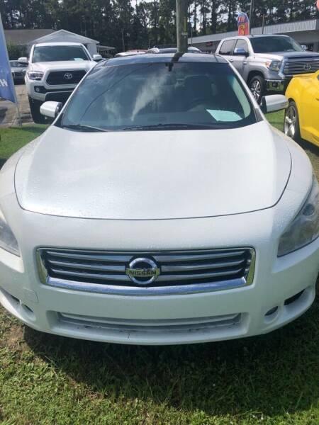 2014 Nissan Maxima for sale at Gralin Hampton Auto Sales in Summerville SC