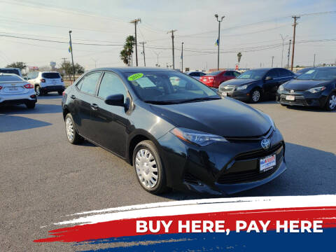 2018 Toyota Corolla for sale at Mid Valley Motors in La Feria TX